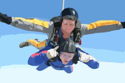 Skoki spadochronowe dla osób niepełnosprawnych