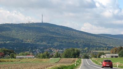 Rozwój gmin leżących wokół najwyższych pasm Gór Świętokrzyskich