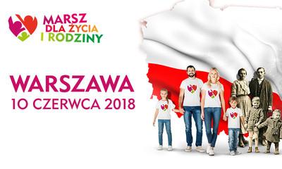 """""""Polska rodziną silna!"""" – Marsze dla Życia i Rodziny w 100-lecie Niepodległości"""