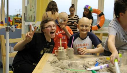Innowacyjna pomoc dzieciom z chorobami onkologicznymi Fundacji ISKIERKA