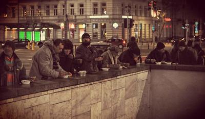 Zaczęło się od gorącej herbaty dla osób bezdomnych