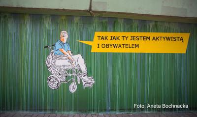 Mural przeciwko stereotypom