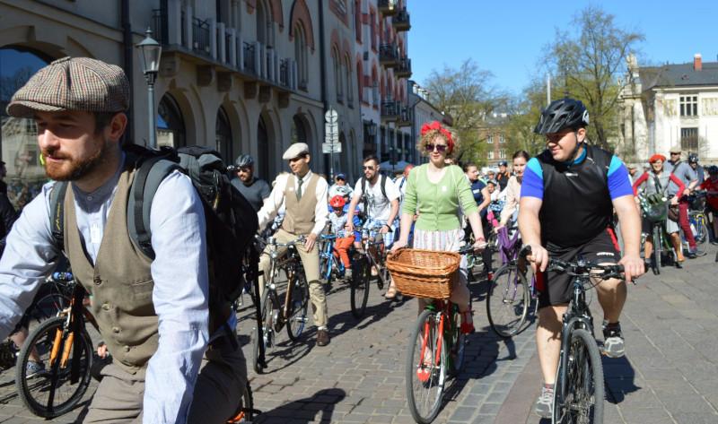Społecznicy przyczyniają się do rozwoju ruchu rowerowego w Krakowie