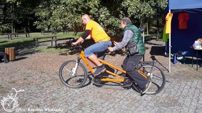Wyprawy rowerowe z udziałem osób niewidomych