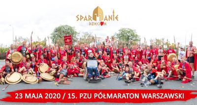 Spartanie biegając pomagają chorym dzieciom