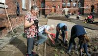 Rewitalizują olsztyńskie podwórka i przypominają historię miasta